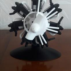 Modèle 3D gratuit Moteur radial imprimable, vocaton