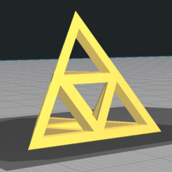 Triangle.png Download free STL file 3D Triangle • 3D printable template, Trunkey