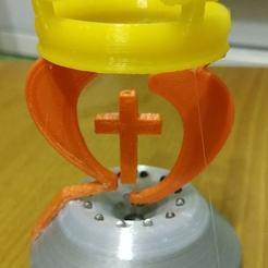 88132857_2565258037064617_3048251462359449600_o.jpg Télécharger fichier STL Croix flottante Crown漂浮十字架王冠 • Objet pour imprimante 3D, Trunkey