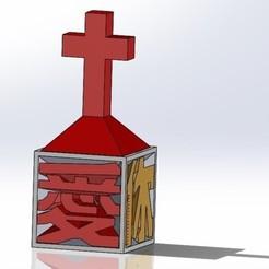 79d70ca1e37fc78f70de69ed40f03383_preview_featured.jpg Télécharger fichier STL Jésus vous aime ( en chinois) 耶穌愛你小桌飾 • Objet pour impression 3D, Trunkey