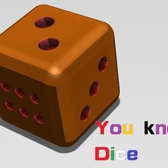 Download free 3D printer model Number Dice 點數骰子, Trunkey