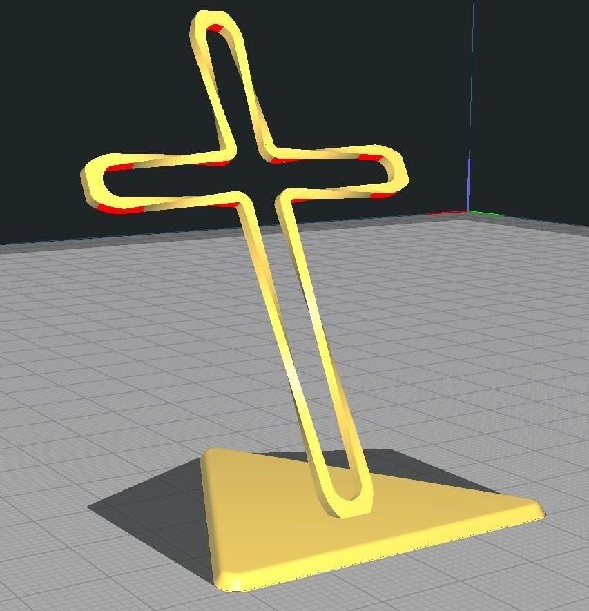 Twisted_Cross.jpg Télécharger fichier STL gratuit Trunkey創吉藝 光影十字架 光影十字架 STAND TWISTED CROSS (Jesus Christ) • Design à imprimer en 3D, Trunkey
