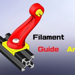 3D printer models Trunkey創吉藝 FILAMENT GUIDE 線材導引座, Trunkey