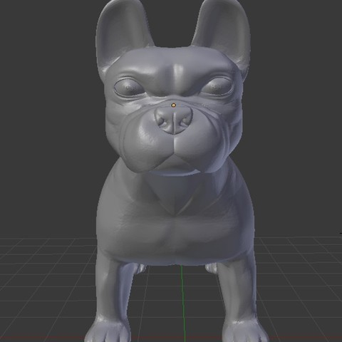Download free 3D printing designs French Bulldog, faos0912