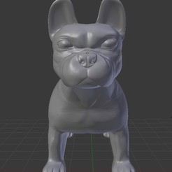 Download free 3D printing designs French Bulldog, faos0912