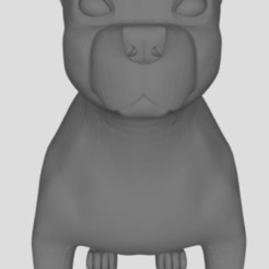 Download free 3D printing models Boston Terrier, faos0912