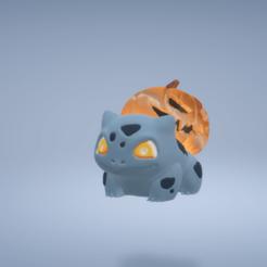 bulnahall1.png Download STL file bulbasaur punken halloween • 3D printer model, jmendoza51