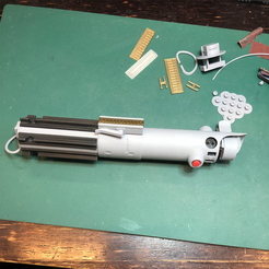 Download 3D printing templates Graflex Lightsaber, alcrohic