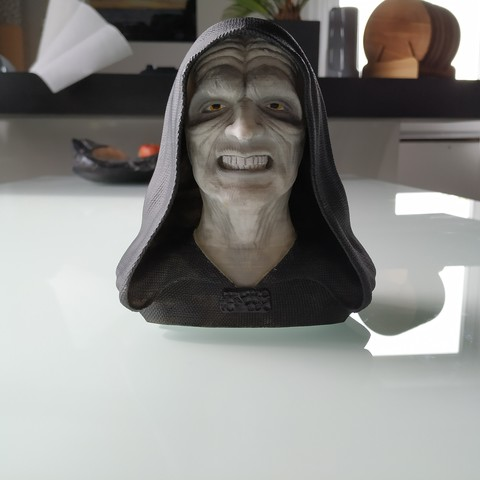 STL files Palpatine (Darth Sidious) Bust, arric