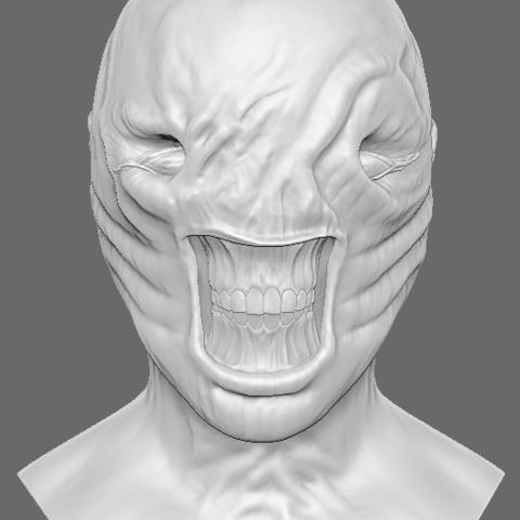 3D printer files Chatterer (Hellraiser) Bust, arric