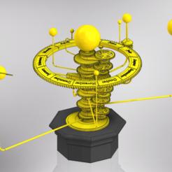 Solar System.png Download STL file Solar System Orrery • 3D print design, arric