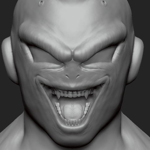 Download free 3D printer templates Dragonball Majin Boo Bust, arric