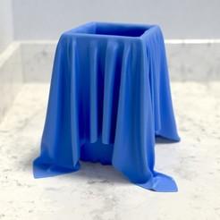 mz_cloth_square_01.jpeg Download STL file Cloth Jars/Vases/Cups/Tumblers  • 3D printing model, Randy_Z