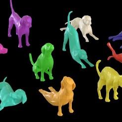 Descargar archivo 3D Perro Poligonal v2.0, Randy_Z