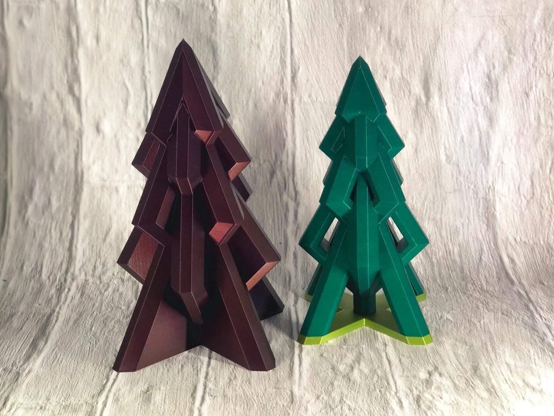 image2 - Copy.jpeg Download free STL file Modern Xmas Tree 2020 • Template to 3D print, IR_Blinx