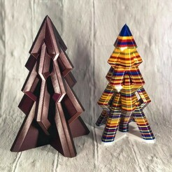 image3.jpeg Télécharger fichier STL gratuit L'arbre de Noël moderne 2020 • Objet pour imprimante 3D, IR_Blinx