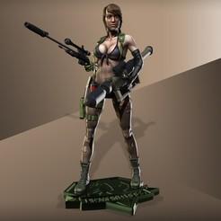 Télécharger objet 3D Metal Gear Solid 5 - Modèle silencieux pour l'impression 3d, chris_guicha