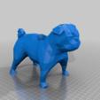 Impresiones 3D gratis Bajo Poli Pug Pot / Pen Holder, hyliancoder