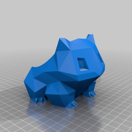 622d94cc8bf223ec87942372b0bca995.png Download free STL file Low Poly Bulbasaur Switch Cartridge Case • 3D printable object, hyliancoder