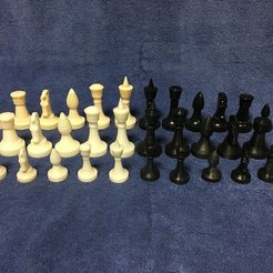 Télécharger fichier impression 3D gratuit Star Trek - Ganine Classic Chess Set : Tour, Dr_Merkin