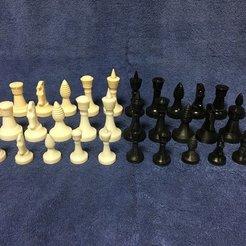 73d2de01f98865126974fa72506dbd00_display_large.jpg Télécharger fichier STL gratuit Star Trek - Ganine Classic Chess Set : Roi • Design à imprimer en 3D, Dr_Merkin