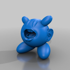 repaired_and_fixed_kirby.png Télécharger fichier STL gratuit Kirby l'affreux • Design pour imprimante 3D, TeeDeeArt