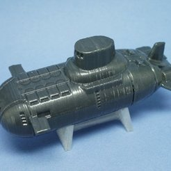 Descargar archivo 3D gratis Submarino TY, tonton463