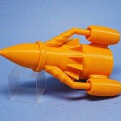 Impresiones 3D gratis Cohete T3, tonton463