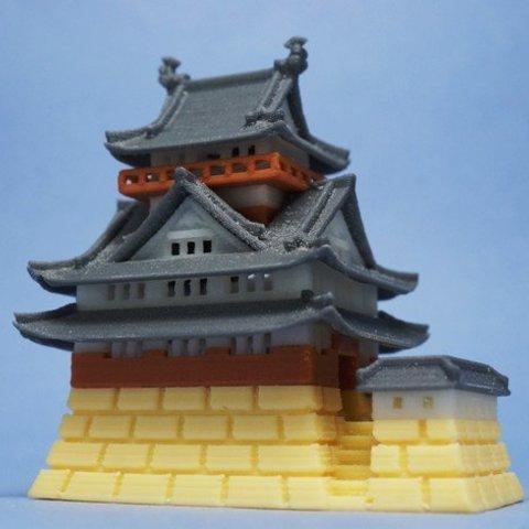 Impresiones 3D gratis Castillo de Gifu, tonton463