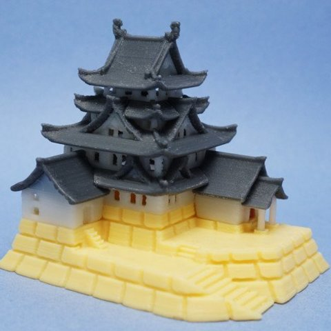 Modelos 3D para imprimir gratis Castillo de Oogaki, tonton463