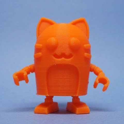 Download free 3D print files Neko Robot (ball-joint), tonton463