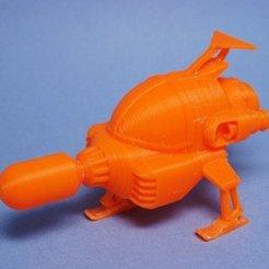 Download free 3D printing models Rocket UI, tonton463