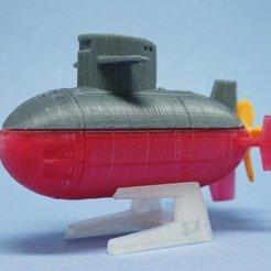 Télécharger objet 3D gratuit Sous-marin LS, tonton463