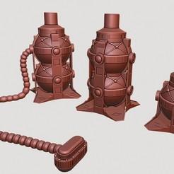Télécharger fichier imprimante 3D Pompe de Kessel, UyA