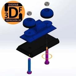 "Image_1.JPG Download free STL file 1/4"" Sandpaper Base • 3D printer template, digifab3d"