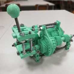Download free 3D print files gear box, kerian5000