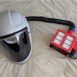 Descargar archivo 3D gratis máscara con fitre, kerian5000