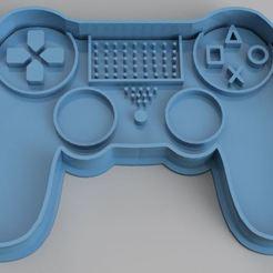 Joystick ps4.JPG Télécharger fichier STL Joystick PS4 • Design à imprimer en 3D, dpacienza
