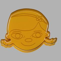 Download 3D print files Dra Toys - Doc McStuffins cookie cutter, dpacienza