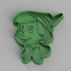 Download STL files Pinocchio cookie cutter, dpacienza