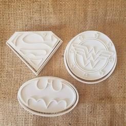 Télécharger objet 3D Superhéros - Batman - Superman - Wonder Woman, dpacienza