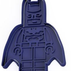 Descargar archivo 3D Batman Lego cookie cutter, dpacienza