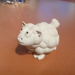 Download free 3D printer model Sheep Salt/Pepper Shaker, Jeyill3