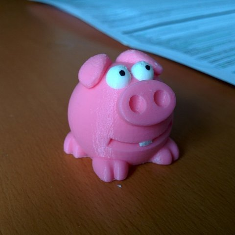 Download free 3D printer designs Cute Piggy, Jeyill3