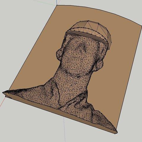 Plaque_HEAD_Image_display_large.jpg Télécharger fichier STL gratuit Plaque du Temple de la renommée • Objet pour imprimante 3D, Jeyill3