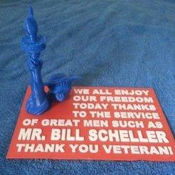 Free STL file Thank A Veteran!, Jeyill3