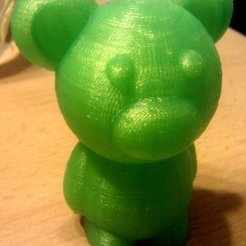 Free 3D print files Tiny bear, Jeyill3
