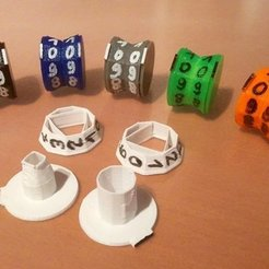 Download free 3D print files Spinning Life Counter, Jeyill3