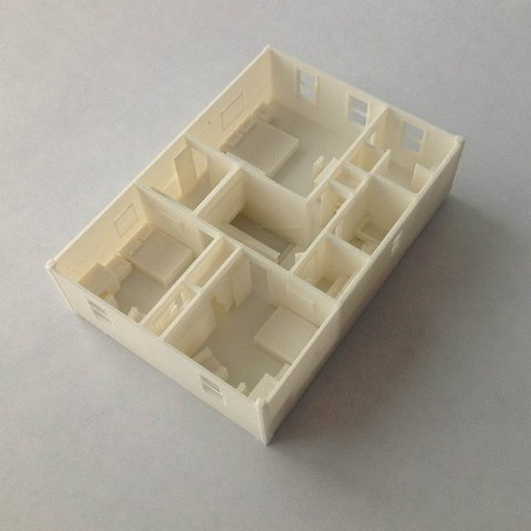 2ndFloorRear_display_large_display_large.jpg Download free STL file Two-Story Spec House • Object to 3D print, Jeyill3