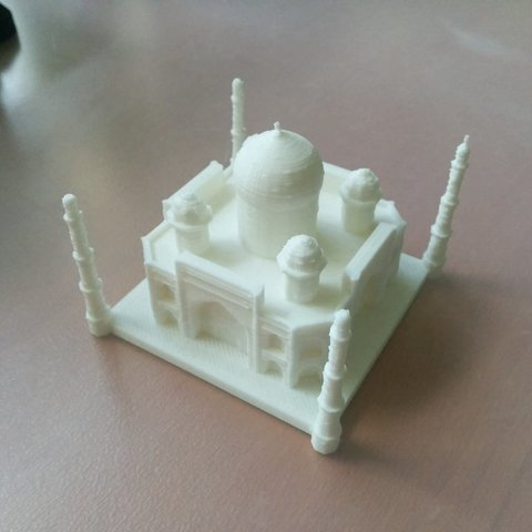 Télécharger fichier 3D gratuit Taj Mahal, Jeyill3